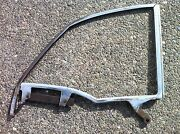 55 56 57 Chevrolet Chevy Bel Air Convertible Rh 1/4 Window Frame Used Gm