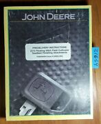 John Deere 2210 Floating Hitch Cultivator Seedbed Finishing Predelivery Manual