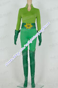 Poison Ivy Cosplay Costume Uniform Suit Green Halloween Party