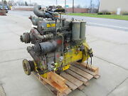 Rs6542 Continental Engine 6 Cyl. Vintage Military Motor Spec 6003 Gasoline