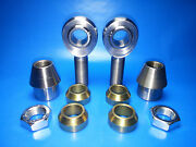 3/4 X 3/4 Bore Chromoly Panhard Bar Heim Joints Wcone Spacers 1-1/2 X.120