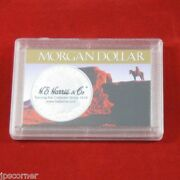 Frosty Coin Cases Holders For Morgan Dollars, 5 Count