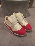 2001 Nike Air Jordan Red Cherry Xi 11 Low Size 12 Og Great Condition