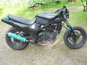 91 Kawasaki Ex500 Ex500 A5 Complete Engine Only No Carbs Carb Intakes Or Exhaust