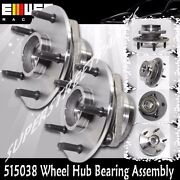 1pair Front Wheel Hub Bearing For 00-01 Dodge Ram1500 4wd -2 Wheel Abs 515038
