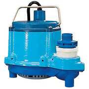 Submersible Sump Pump - 230 Volts - 46 Gpm - 1/3 Hp - 12 Ft Cord - No Solids