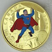 Canada 2015 100 Iconic Superman Comic Book Covers Superman 4 1940 14k Gold
