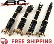 Bc Racing Br Series Coilovers Fits 2001-2009 Volvo S60 2wd Only- P24- Zg-01
