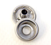 Snap Button And Socket Stainless Steel Line 24 Standard Size 25 Piece Set