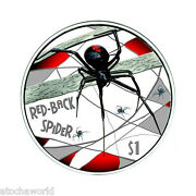 Tuvalu 2006 Red Back Spider Perth Mint .999 Silver Coin 1oz Deadly And Dangerous