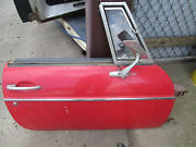 Original Mgb Early Year Complete Right Side Door With Glass And Vent Window