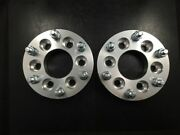 4 Hubcentric Wheel Spacers Ford F150 Expedition Adapters Lugs 6x135