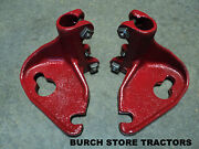New Pair Of Back / Rear Cultivator Bar Mounts For Farmall 140 130 Super A 100