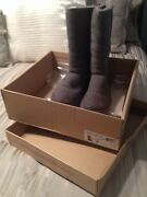Authentic Gray Uggs Size 6