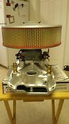 Mighty Demon 750 Cfm Carb And Edelbrock Victor Jr Intake Manifold No Air Cleaner