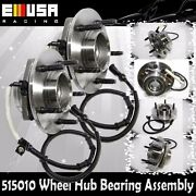 2pcsfront Wheel Bearing Hub Assembly For 97-00 Ford Pickup Truck F150 4wd 515010
