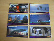 Topps Star Wars Empire Strikes Back Widevision Promo Trading Cards P1-p6
