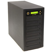 1 To 5 Dvd Cd Disc Copy Burner Duplicator Tower With 500gb Hard Drive And Usb 3.0