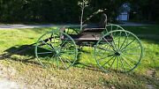 Antique Late 1800and039s/early 1900and039s Horse Drawn Carriage