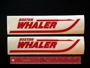 2 Two  Boston Whaler Boats Marine Decals 12 - New