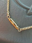 Mens Gold Chain Fetrite Magnets Necklace Tdk Discontinued And Rare See Tdk For