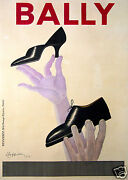 Cappiello Affiche Ancienne Chaussures Bally Vintage Litho Poster 1934