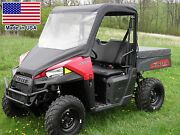 Vinyl Windshield And Roof For Polaris Ranger 570 Mid Size - Canopy - Commercial