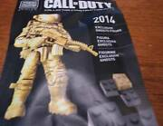 Call Of Duty Mega Bloks New York Comic Con Exclusive Gold Ghost Action Figure Ny