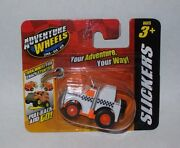 Maisto Adventure Wheels Slickers Semi-truck Motorized Pull Back And Go Ages 3+