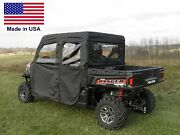 Doors And Rear Window For Polaris Crew 900 And 570-6 - Soft - Puncture Proof