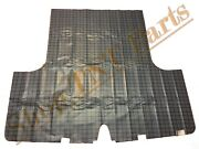 Trunk Mat Liner Plymouth Belvedere 1962 Plaid Printed Vinyl Fleece Back Coupe 62