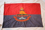 Ww2 British Airborne 158th Parachute Field Artillery Flag Rare
