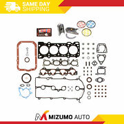 Engine Re-ring Kit Fit 93-97 Ford Probe Mazda 626 Mx6 Dohc Fs