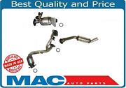Fits For 00-05 Taurus Vin S Dohc 24v L And R Rear Manifold 3 Catalytic Converter