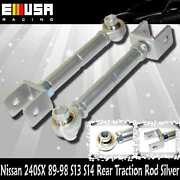Rear Traction Rod Silver For Nissan 240sx 89-94 S13 95-99 S14