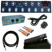 Keith Mcmillen Instruments 12 Step Chromatic Foot Controller Ultra Bundle
