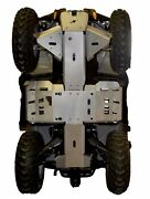 Ricochet Off-road 6 Pc Complete Skid Plate Set 2015-16 Can-am Outlander L Max