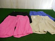 New Mens Lot Of 4 Polo Golf Shorts Size 32