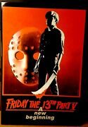 Neca Friday The 13th Ultimate Part 5 V Jason Voorhees 7 Scale Action Figure Mib