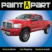 New Dodge Ram 2005 2006 2007 Truck Fender Flares Painted To Match - Bolt Style