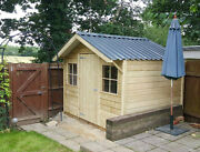 High Quality Premium Timber Chalet Pressure Treated Steel Roof Heavy Duty Shed