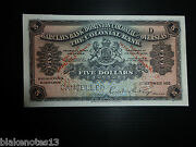 Dominica Lot P-s101s 1926 5 Dollars Unc Barclays Bank Specimen Add Collection