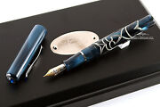 Visconti Versailles Blue Sterling Silver Fountain Pen - Limited Edition 343/365
