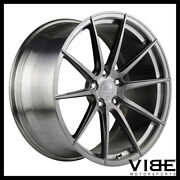 20 Vertini Vs Forged Vs01 Brushed Concave Wheels Rims Fits Nissan Altima