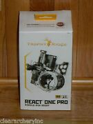New Trophy Ridge React One Pro Bow Sight- Black -right Hand .019 Pin- 280 Msrp