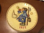 Lot Of 3 Hummel Goebel Annual Plates 1972-1974 No Boxes