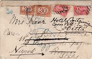 Canada To Italy Postage Due Charged Double Letter Rate 10c 1907 T60 Centimes