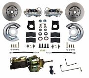 Ford Mustang Power Disc Brake Conversion Kit For Auto Trans. Easy Bolt On Kit