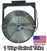 24 Ceiling Fan - 5,300 Cfm - 230v - 1/3 Hp - 1 Way - 6 Blade - Totally Enclosed