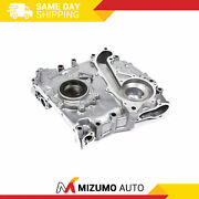 Timing Chain Cover Oil Pump Fit 95-04 Toyota Tacoma 2.4l 2rzfe Dohc 16v
